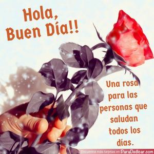 Tarjeta de Hola, Buen Día!!